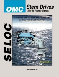 OMC 1964-1986 Stern Drive Outdrive Service Repair Manual