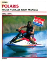 Polaris PWC Shop Manual 1992-1995