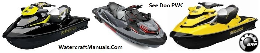 Sea Doo Personal Watercraft PWC