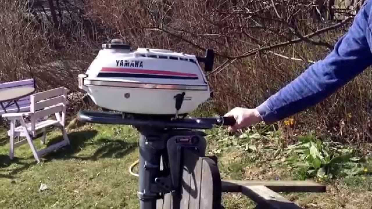 Yamaha 1967 P-95 Outboard Motor Video